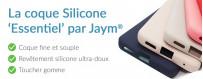 La nouvelle coque Silicone pensée par Jaym®.