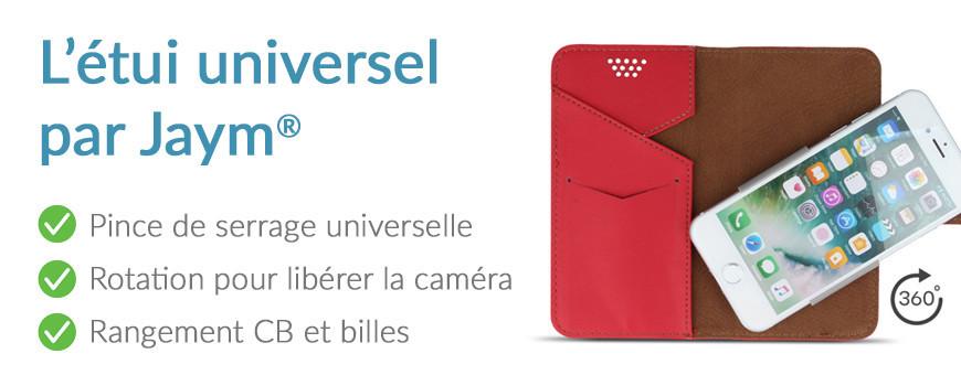 L'étui universel pour Smartphone, pensé par Jaym®