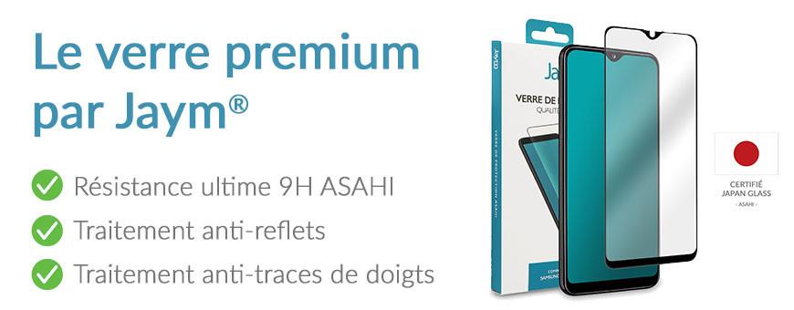 Le verre de protection 'Premium' ASAHI, pensé par Jaym®